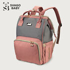 SvagoBaby - Diaper Waterproof Mummy Bag with USB Charging 360 Storage Nappy Bag <br/> FREE BONUS 🎁 High-quality Stroller Straps are included