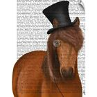 Wall Decal entitled Horse Top Hat and Monocle