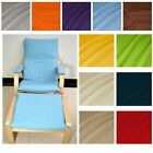 EXTRA PAD(EASY FIT Slipcover) NO ZIPPER-Tailor Made For IKEA Poang Arm Chair*La