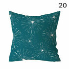 Nordic Style Blue Green Pillow Case Printed Sofa Cushion Cover Home Decor Covers
