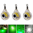 LED Underwater Fish Fishing Night Light Fluorescent Glow Bait Lure Lights Lamp L