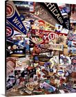 Chicago Cubs Mementos I Canvas Art Print on Ebay