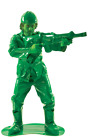 Mens Green Toy Soldier Costume Plastic Army Man Toy Story Film Fancy Dress
