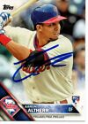 Aaron Altherr Philadelphia Phillies 2016 Topps Series 2 Autographed Signed Card on Ebay