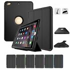 Heavy Shockproof Case Smart Leather Cover for iPad 234 New 9.7inch 2018 Air Mini