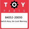 84052-20030 Toyota Switch assy, un-lock warning 8405220030, New Genuine OEM Part