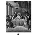 Canvas Painting Wall Art Jesus Posters and Prints Wall Picture Home Decoration