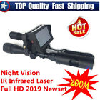 Professional Night Vision Infrared Screen Monitoring Optical Laser Rifle Scope