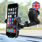 360° Rotatable In Car Suction Phone Holder Dashboard Windscreen Universal Mount!