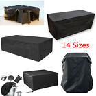 Outdoor Garden Patio Waterproof Furniture Bench Parasol Covers Rattan Table Bbq