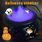 Halloween Cauldron Mister Maker Smoke Fog Machine Color Changing Party Prop NEW