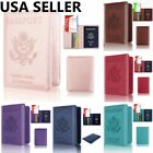 Kyпить RFID Blocking Leather Passport Holder ID Credit Card Cover Case Travel Wallet на еВаy.соm