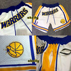 1995-1996 Golden State Warriors Shorts Pants Stephen Curry Klay Thompson Jersey on eBay