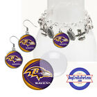 FREE DESIGN > BALTIMORE RAVENS -Earrings, Pendant, Charm, Keyring <FAST SHIP> $1.49 USD on eBay