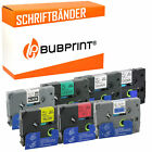 7 Label Tapes Compatible with Brother Records 131 335 431 531 631 731 931 12mm/