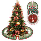 Christmas Tree Skirt Base Floor Mat Cover Xmas Party Home Decoration Plush 90cm