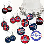 FREE DESIGN > NEW ENGLAND PATRIOTS -Earrings, Pendant, Charm, Keyring<FAST SHIP> $8.99 USD on eBay