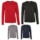 SOL'S MENS GALAXY COTTON ACRYLIC V NECK SWEATER 90000