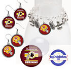 FREE DESIGN > WASHINGTON REDSKINS - Earrings, Pendant, Charm, Keyring<FAST SHIP> $3.99 USD on eBay