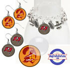 FREE DESIGN > TAMPA BAY BUCCANEERS -Earrings, Pendant, Charm, Keyring<FAST SHIP> $2.99 USD on eBay