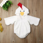 UK Kid Baby Boy Girl Chick Chicken Fancy Dress Up Party Faux Fur Costume Cosplay