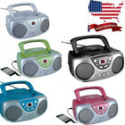 Sylvania SRCD243 Portable CD Player with AM/FM Radio, Boombox
