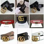 "Fashion Women Leather G-Style Belts ""G"" Logo Pattern For Jeans G Buckle Belt"