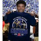 2018 AFC North Division Champions Baltimore Ravens Football NFL Shirt Men S-5XL $29.87 USD on eBay
