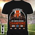 2018 NFC North Division Champions Chicago Bears Football NFL T-Shirts Men M-3XL $29.87 USD on eBay
