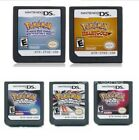 Pokemon Heart Gold / Soul Silver Version Game Card Fits Nintendo 3ds Ndsi Ndsxl