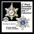 FREE DESIGN> LOS ANGELES DODGERS -Snowflake Ornament, 3 designs,Natural or White on Ebay
