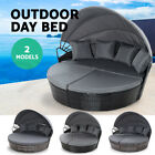 Outdoor Sun Lounge Setting Furniture Sofa Wicker Day Bed Patio Garden Set