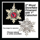 FREE DESIGN > HOUSTON TEXANS - Snowflake Ornament, Natural or White $5.99 USD on eBay