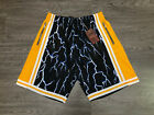 Mitchell and Ness LA Los Angeles Lakers Swingman Lightning Shorts 1984-85 NEW $59.99 USD on eBay