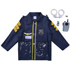 Doctor Outfit Kid Boy Girls Fancy Dress Police Surgeon Uniform Halloween Costume