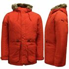 Puma Mens ILP Wow Hooded Jacket Down Parka Coat Red 568043 04 Y17A