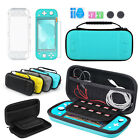 5 in1 Carry Case Bag+Shell Cover+Glass Screen Protector For Nintendo Switch Lite