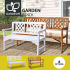 Gardeon Wooden Garden Bench Seat Outdoor Chair Patio Furniture Lounge Timber