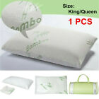 1pcs Premium Firm Hypoallergenic Bamboo Fiber Memory Foam Pillow King/Queen image