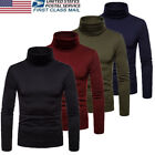 Kyпить US Hot Mens Thermal Turtle Neck Skivvy Turtleneck Sweaters Stretch Shirt Tops на еВаy.соm