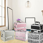 Large Professional Make Up Box Nail Jewelry Storage Cosmetic Vanity Beauty Case