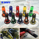 "ATV Scooter Dirt Pit Bike 7/8"" 22MM Hand Grips Rubber Handlebar 10 Colors image"