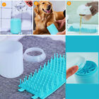 Portable Outdoor Dog Cat Paw Cleaner Soft Silicone Pet Feet Cleaning Brush Cup