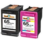 Ink Cartridges for HP 65 fits Deskjet 2622 2652 2655 3722 ENVY 5052 5055