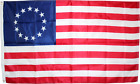 US BETSY ROSS 12x18 2x3 3x5 150D Nylon Flag UV Protected Waterproof AMERICAN '76