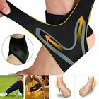 Elastic Adjustable Ankle Brace Support Sport Basketball Protector Foot Wrap USA $3.89 USD on eBay