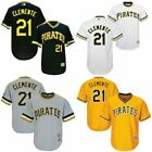 Roberto Clemente 21 Pittsburgh Pirates Classic Pullover Jersey Mens New HOF