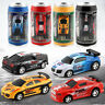 Mini Speed RC Car Radio Remote Control Micro Racing Car Toy Coke Can Package NEW