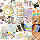 Washi Tape Masking Tape Scrapbook Decorative Sticky Paper Adhesive Sticker Lot