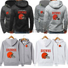 Cleveland Browns Hoodie Football Hooded Sweatshirt Fleece Jacket Gift for Fans $23.74 USD on eBay